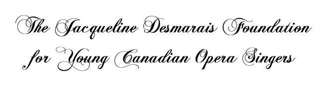 Jacqueline Desmarais Foundation