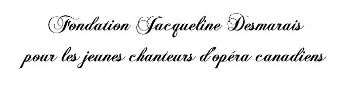 Fondation Jacqueline Desmarais
